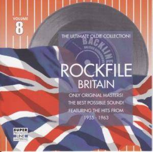 Rockfile Britain - Volume 8 - Cover