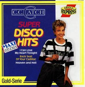C.C. Catch: Super Disco Hits - Cover