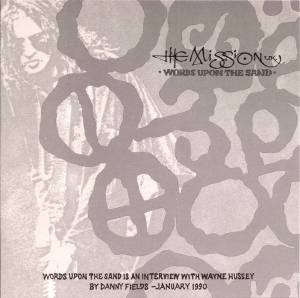 Cover - Mission, The: Words Upon The Sand