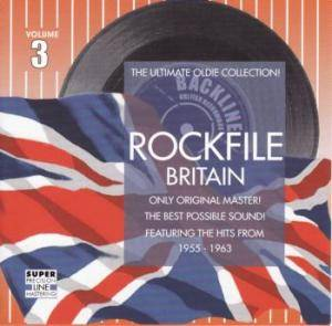 Cover - Louise Cordet: Rockfile Britain - Volume 3