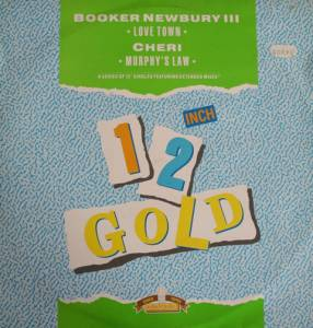 Cover - Booker Newberry III: 12 Inch Gold