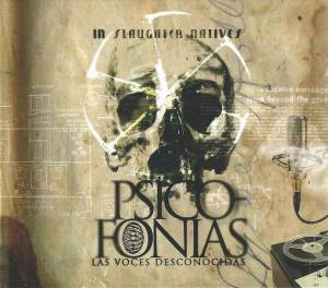 In Slaughter Natives: Psicofonias - Las Voces Desconocidas - Cover
