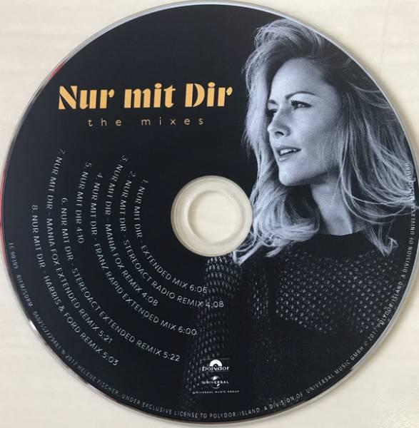 Helene Fischer Nur Mit Dir Single Cd 2017 Remix