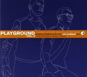 Cover - Only Child: Les Gammas ‎– Playground Vol. 2 - A Jurney Into Deep & Soulful Future Fusion