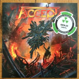 Accept: Rise Of Chaos, The - Cover