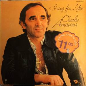 Charles Aznavour: I Sing For... You - Cover