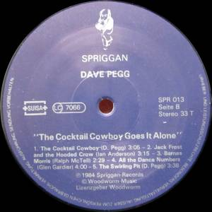 Dave Pegg - The Cocktail Cowboy Goes It Alone