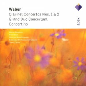 Carl Maria von Weber: Clarinet Concertos Nos. 1 & 2 / Grand Duo Concertant / Concertino - Cover