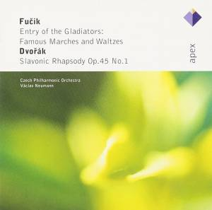 Cover - Julius Fučík: Entry Of The Gladiators: Famous Marches And Waltzes / Slavonic Rhapsody Op.45 No.1