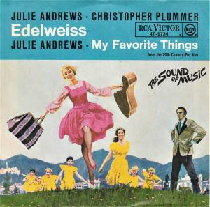 Cover - Julie Andrews: Edelweiss