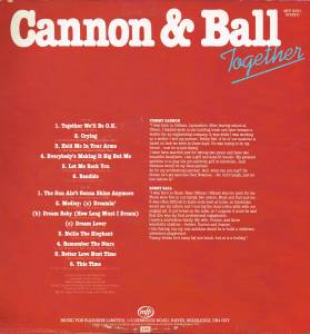 Cannon & Ball: Together (LP) - Bild 2