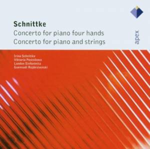 Alfred Schnittke: Concerto For Piano Four Hands / Concerto For Piano And Strings (CD) - Bild 1