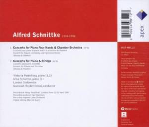 Alfred Schnittke: Concerto For Piano Four Hands / Concerto For Piano And Strings (CD) - Bild 2