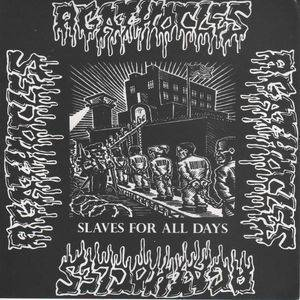 Agathocles: Slaves For All Day / Miseria Global - Cover