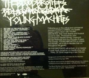 The Blood Brothers: Young Machetes (Promo-CD) - Bild 2