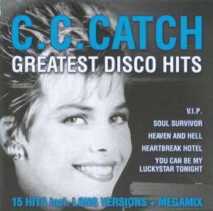 Cover - C.C. Catch: Greatest Disco Hits