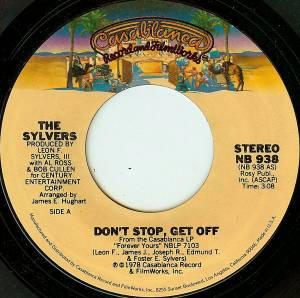 Cover - Sylvers, The: Don't Stop, Get Off