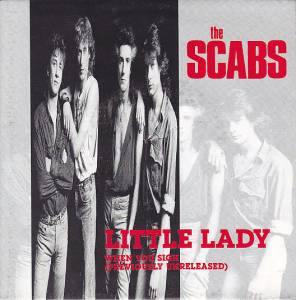 Cover - Scabs, The: Little Lady