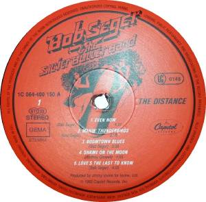 Bob Seger & The Silver Bullet Band: The Distance (LP) - Bild 5
