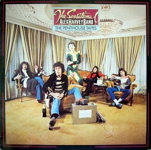 Cover - Sensational Alex Harvey Band, The: Penthouse Tapes, The