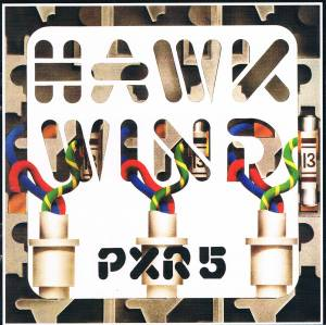 Hawkwind: P.X.R.5 - Cover