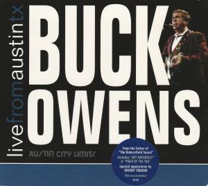 Cover - Buck Owens: Live From Austin TX