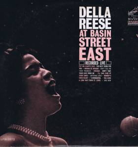 Cover - Della Reese: At Basin Street East