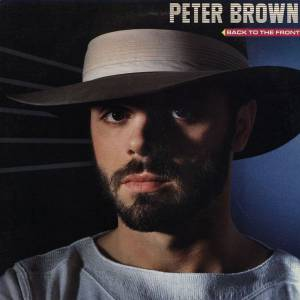 Cover - Peter Brown: Back To The Front