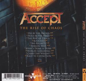 Accept: The Rise Of Chaos (CD) - Bild 2