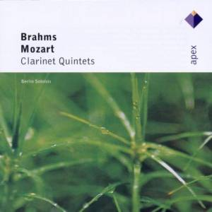 Wolfgang Amadeus Mozart: Brahms / Mozart: Clarinet Quintets - Cover