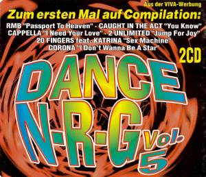 Cover - Cabballero: Dance N-R-G Vol. 5