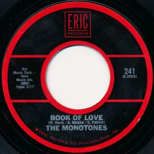 Cover - Monotones, The: Book Of Love