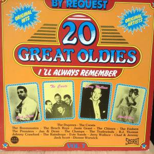 Cover - Johnny Crawford: 20 Great Oldies - I'll Always Remember Vol. 7