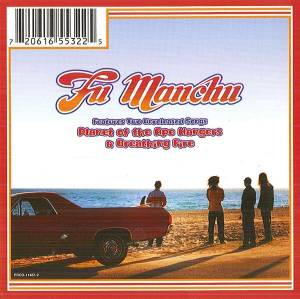 Fu Manchu: Planet Of The Ape Hangers / Breathing Fire - Cover