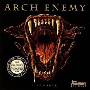 Cover - Arch Enemy: Live Power