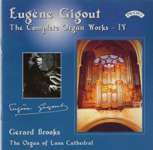 Cover - Eugène Gigout: Complete Organ Works - IV, The
