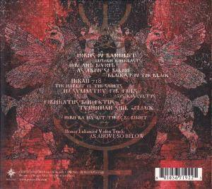 Behemoth: Zos Kia Cultus (Here And Beyond) (CD) - Bild 2