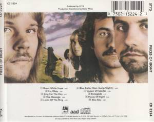 Styx: Pieces Of Eight (CD) - Bild 2
