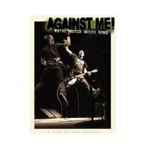 Against Me!: We're Never Going Home - Cover