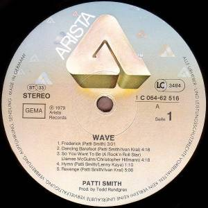 Patti Smith Group: Wave (LP) - Bild 3