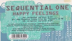 Cover - Sequential One: Happy Feelings