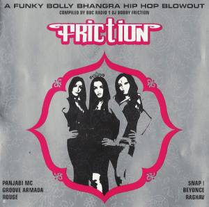 Cover - Swami: Friction - A Funky Bolly Bhangra Hip Hop Blowout