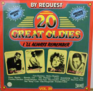 Cover - Timi Yuro: 20 Great Oldies - I'll Always Remember Vol. 20