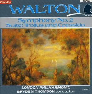 Cover - William Walton: Symphony No. 2 / Suite: Troilus And Cressida