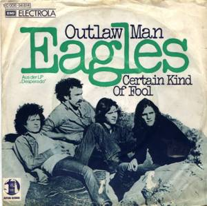 Cover - Eagles: Outlaw Man