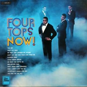Cover - Four Tops: Four Tops Now!