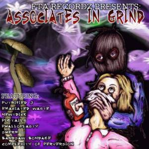 Cover - Putrified J: Associates In Grind