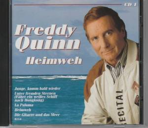 freddy quinn heimweh cd 1997. Black Bedroom Furniture Sets. Home Design Ideas