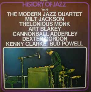 Cover - Milt Jackson Quintet: History Of Jazz Vol.6