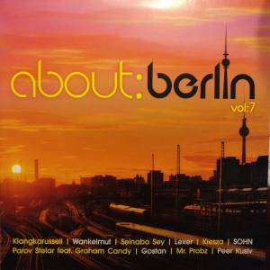 Cover - KL∆NGK∆RUSSELL: About: Berlin Vol:7